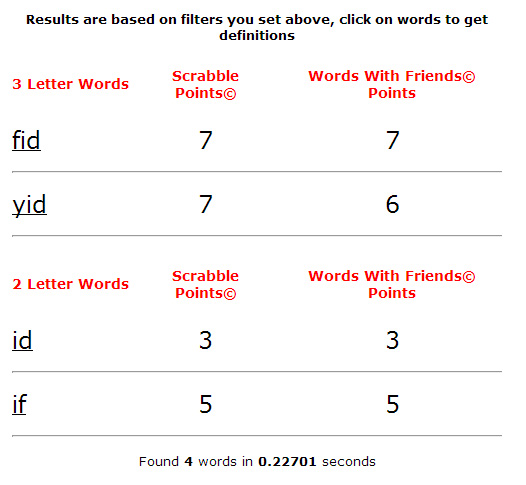 words-results