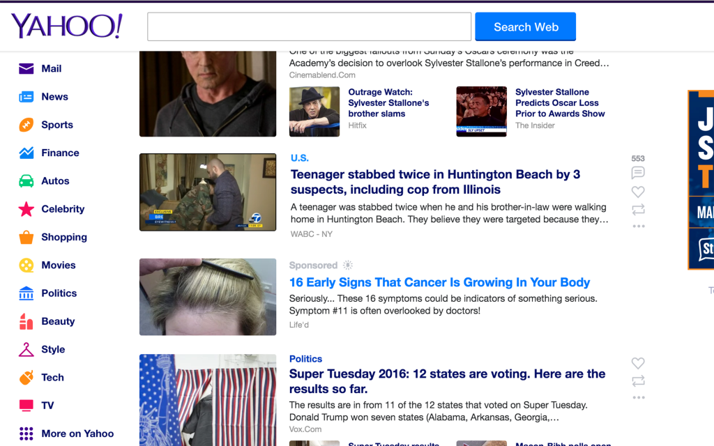"Why Yahoo ""Sponsored"" (Ads) News Is Full Of Crap - I Hate ..."
